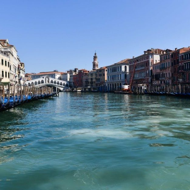 Venice, Italy water canals are clearer than ever before due to the Coronavirus pandemic.